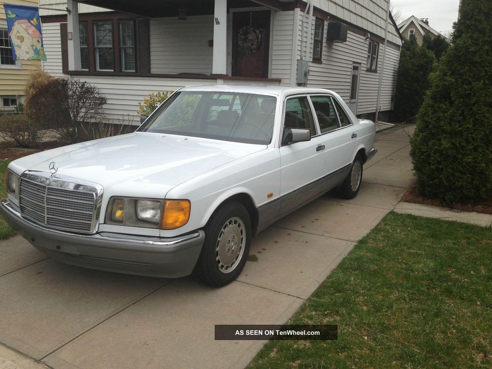 1986 Mercedes Benz European Made Sel 500