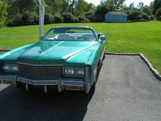 1976 Cadillac Eldorado Convertible 2 - Door 8.  2l photo