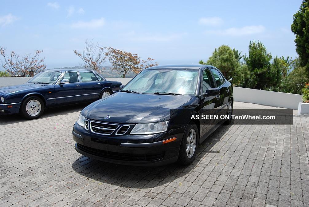2004 California Saab 9 - 3 Linear Sedan 4 - Door 2.  0lturbo 9-3 photo