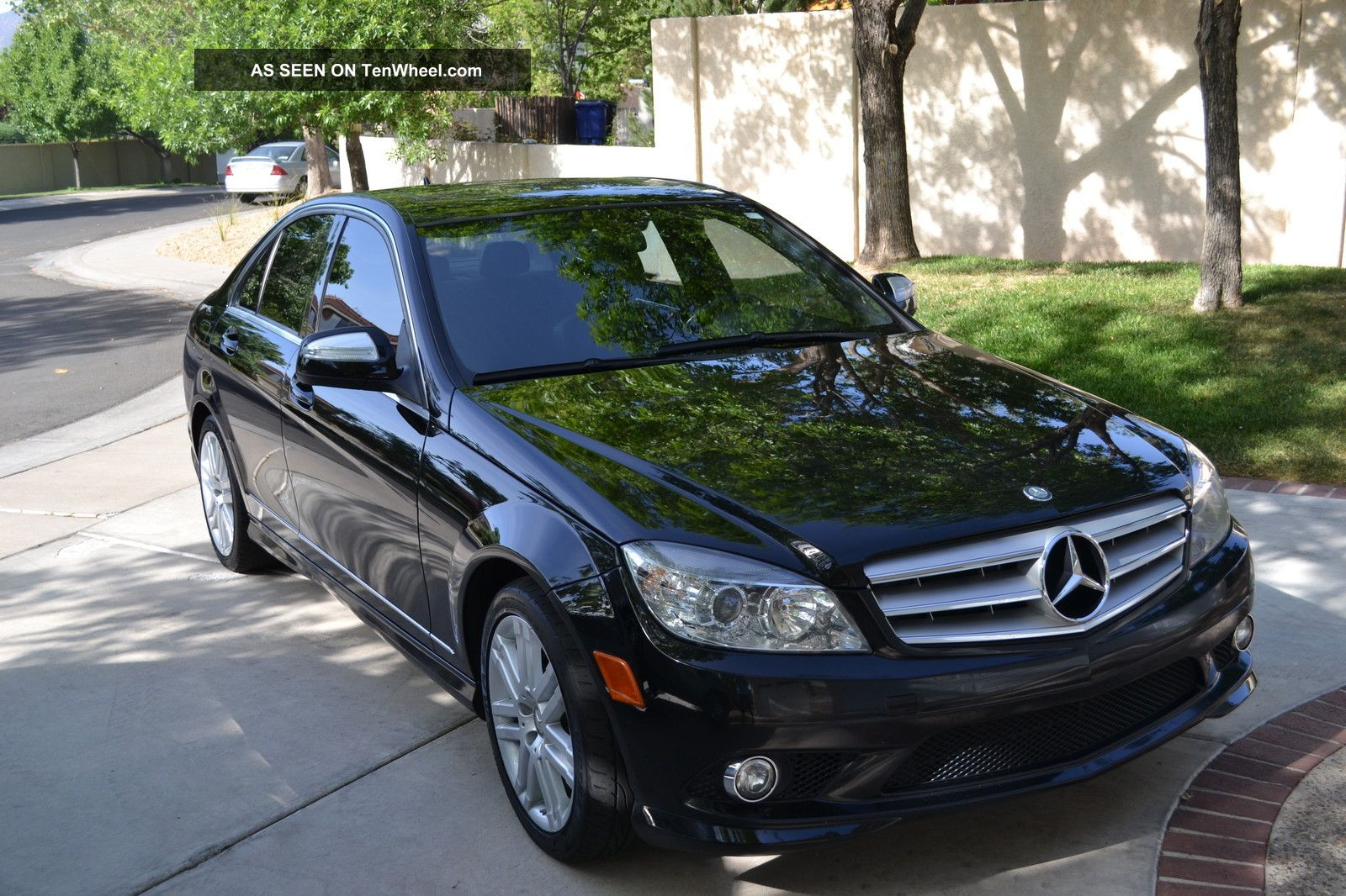 2008 Mercedes Benz C 300 Black On Black