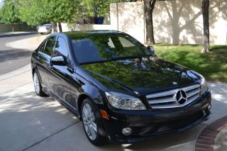 2008 Mercedes Benz C 300 Black On Black photo
