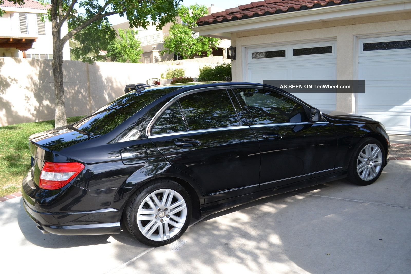2008 mercedes benz c 300 black on black for C class 300 mercedes benz