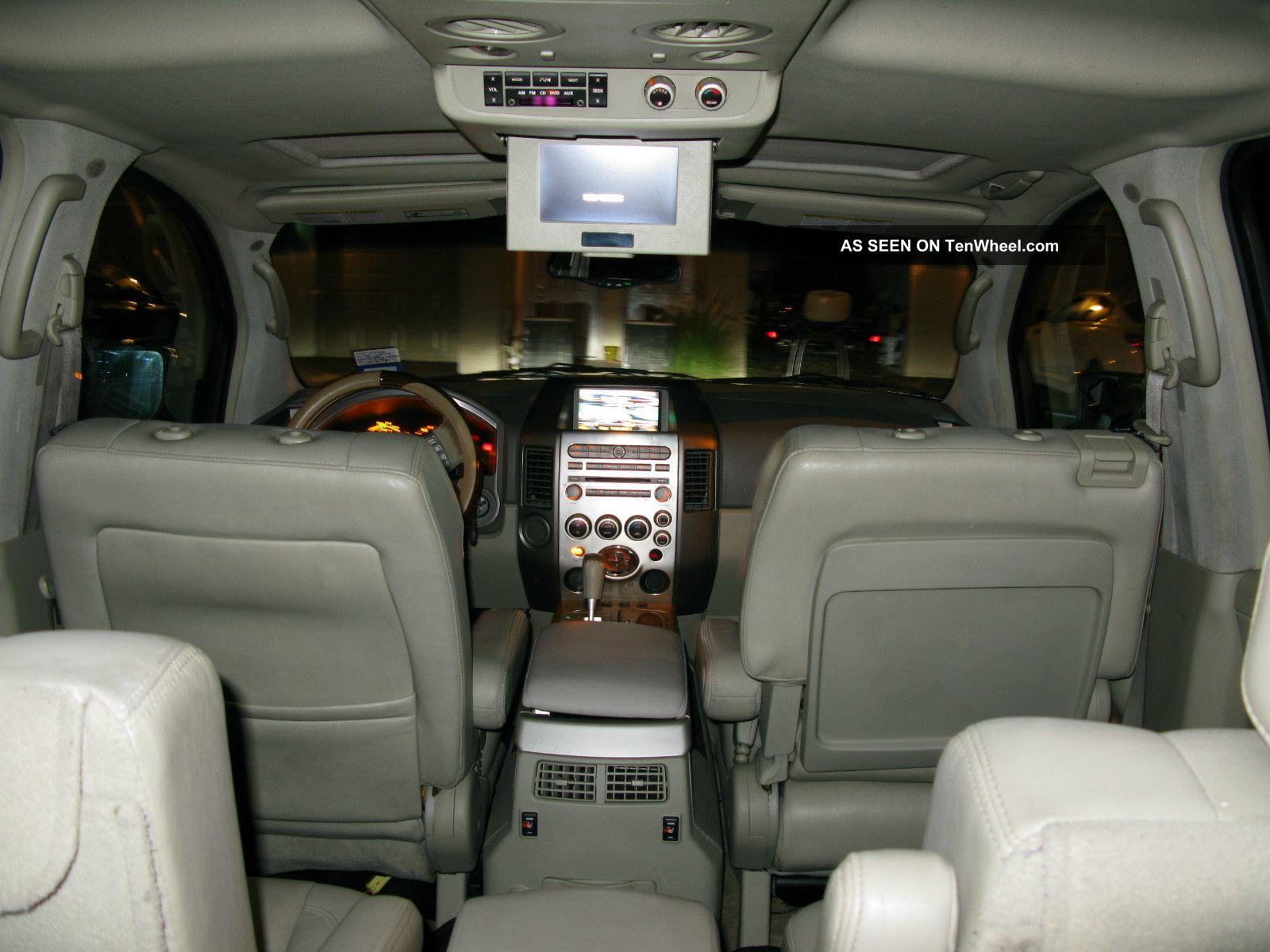 2005 Infiniti Qx56 Base Sport Utility 4 Door 5 6l