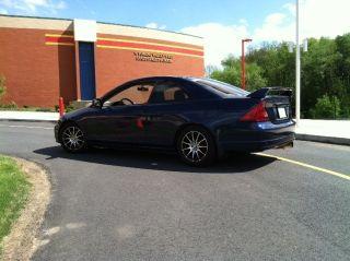 2002 Honda Civic Ex Coupe 2 - Door 1.  7l photo