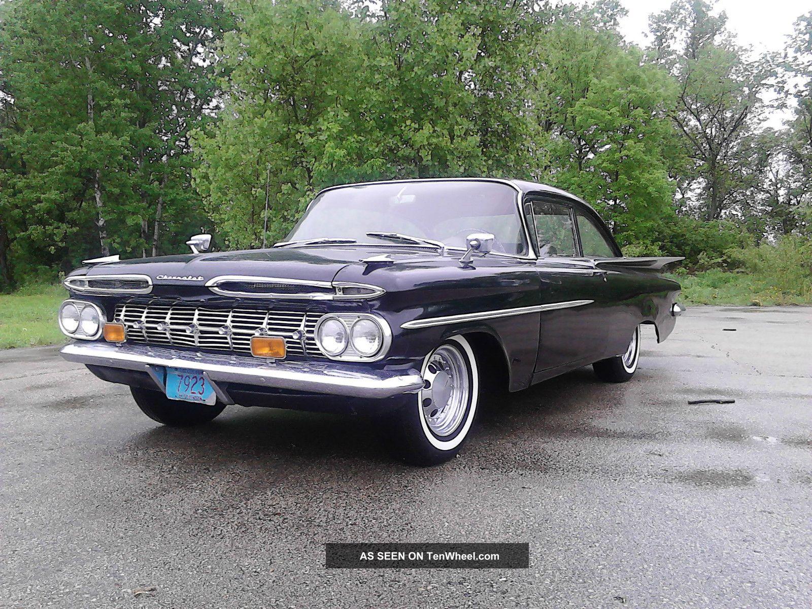 1959 Chevrolet Impala Biscayne Chevy Wiring Diagram