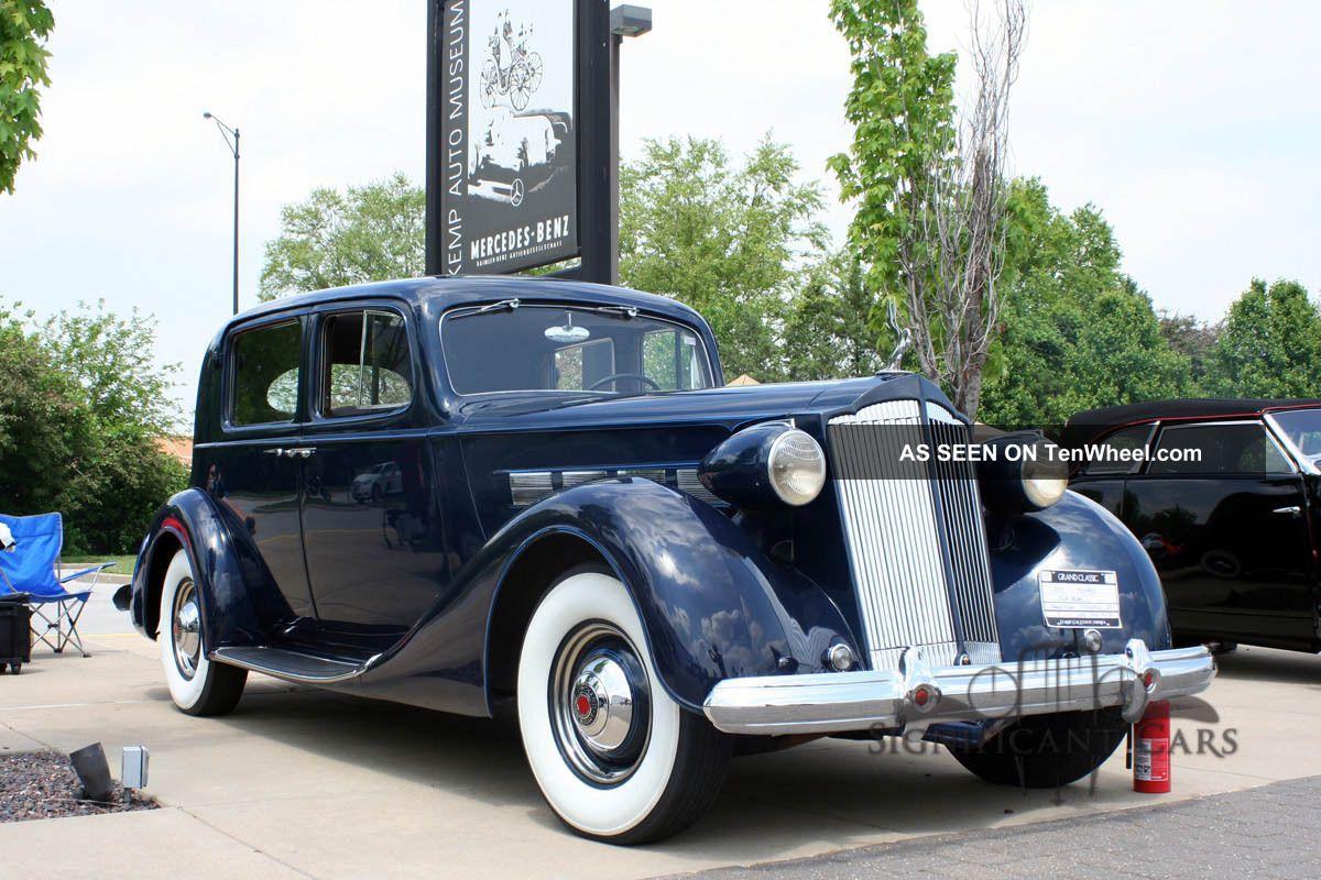 1937 Packard 8 Club Sedan - Great Tour Car Award Winning Packard photo