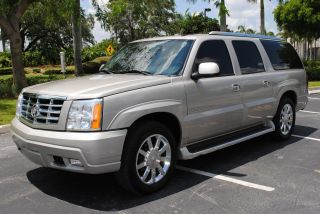 2006 Cadillac Escalade Esv Platinum Awd Florida Car photo