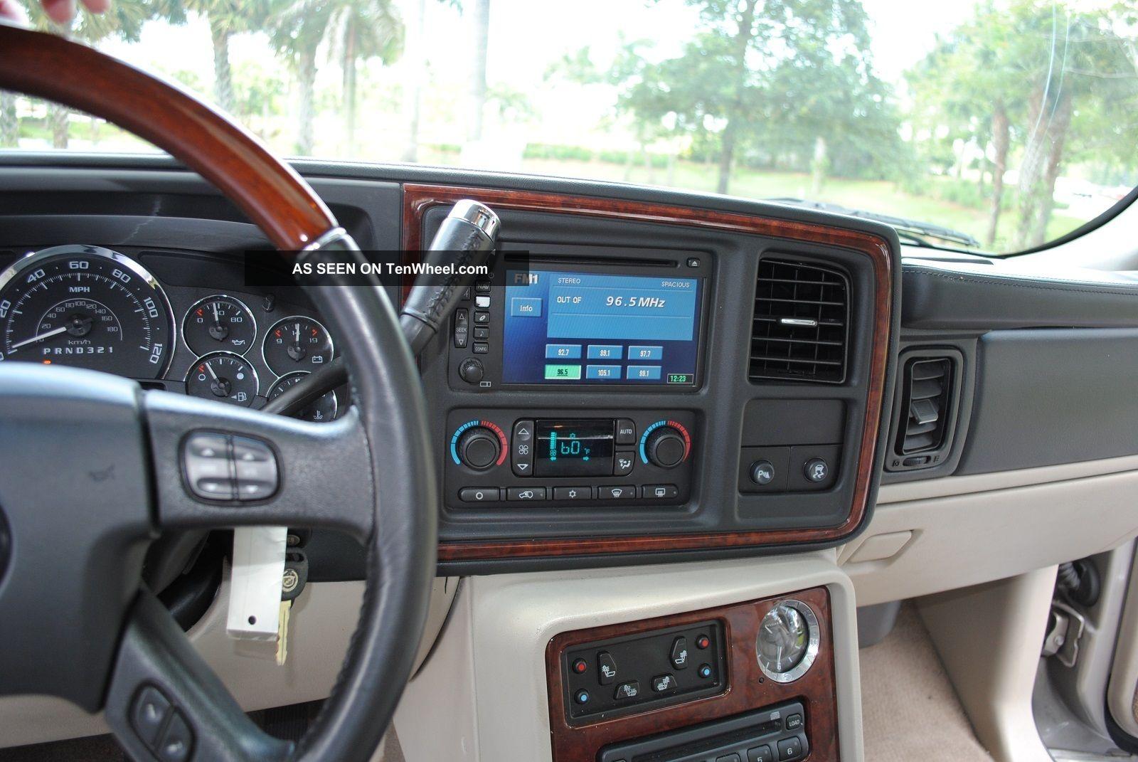 2006 Cadillac Escalade Esv Platinum Awd Florida Car