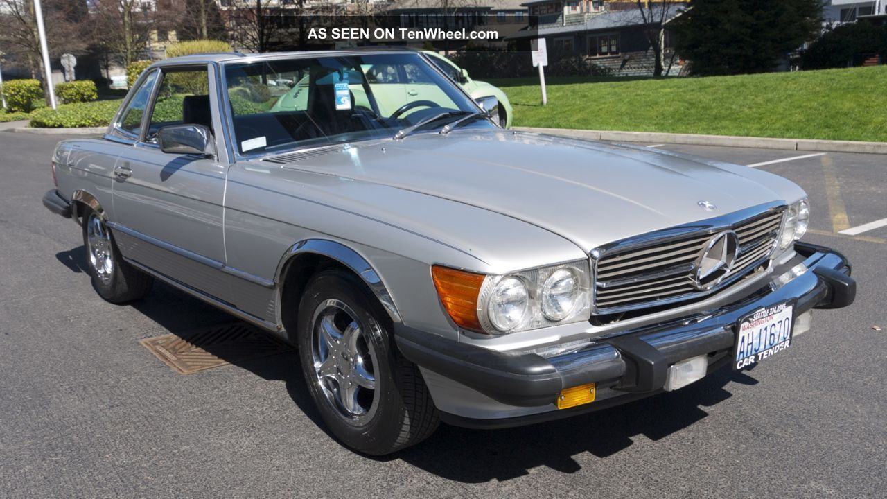 Low - Milage 1986 Mercedes - Benz 560sl Convertible 500-Series photo