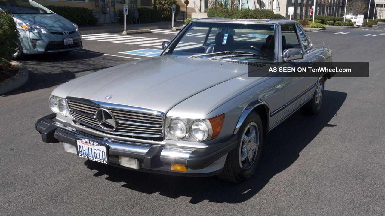 Low milage 1986 mercedes benz 560sl convertible for Mercedes benz 560sl