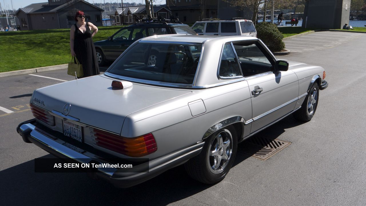 Low milage 1986 mercedes benz 560sl convertible for Mercedes benz 1986