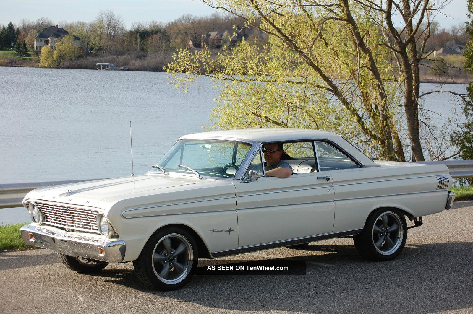 30037 1964 ford falcon futura sprint 4   3l