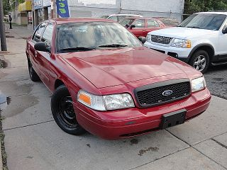 2008 Ford Crown Victoria Police Interceptor Sedan 4 - Door 4.  6l photo