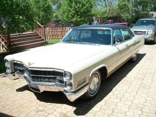 1966 Cadillac Deville Base Hardtop 4 - Door 7.  0l photo