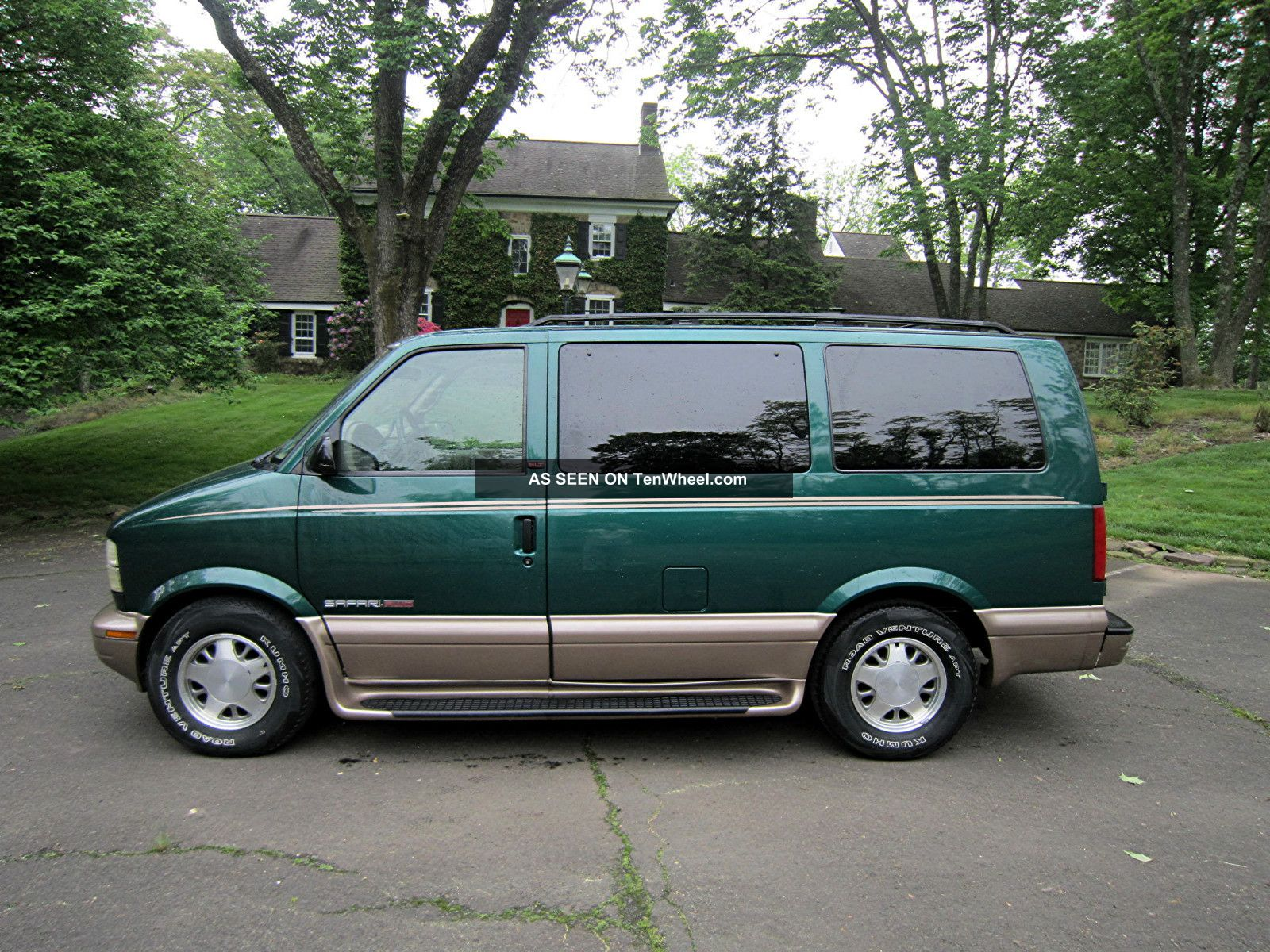2002 Gmc Safari Slt Extended Passenger Van 3