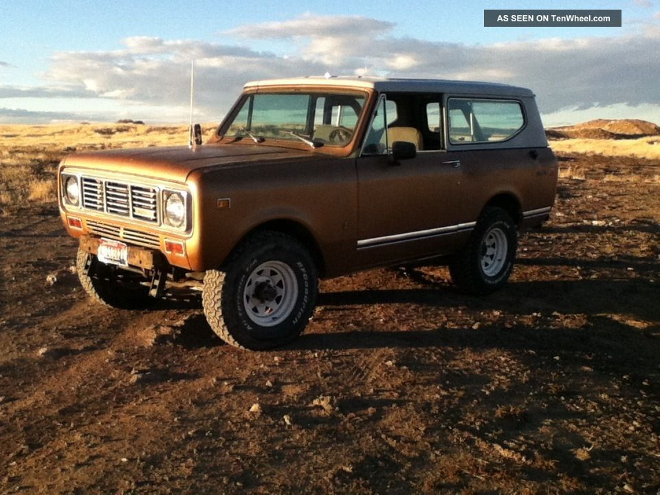International Scout 2 1976 Scout photo