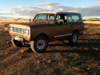 International Scout 2 1976 photo