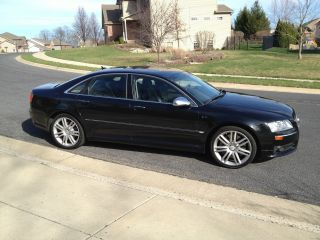 2007 Audi S8 Quattro Sedan 4 - Door 5.  2l,  V10,  Black / Black,  Loaded, ,  Cam,  Awd photo