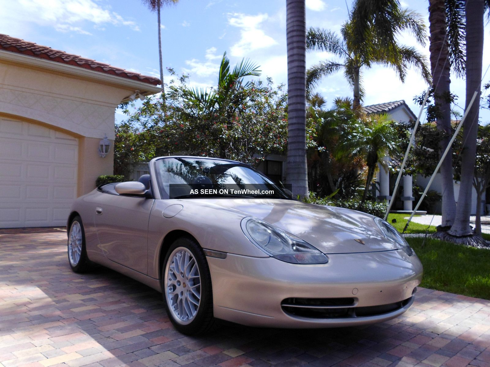2000 Porsche Carrera 911 996 Cabriolet Convertible 64,  000 Mile Fl Car 911 photo
