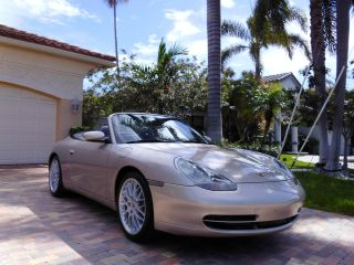 2000 Porsche Carrera 911 996 Cabriolet Convertible 64,  000 Mile Fl Car photo