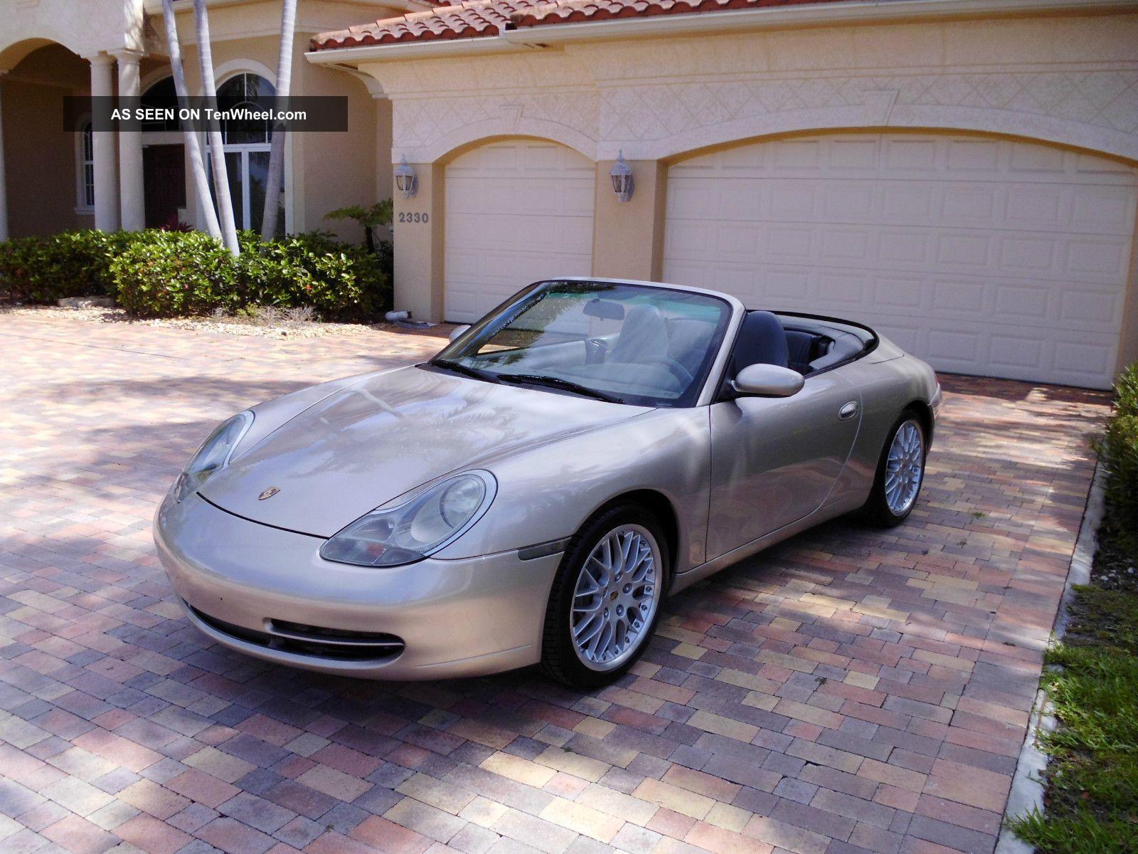 2000 porsche carrera 911 996 cabriolet convertible 64 000. Black Bedroom Furniture Sets. Home Design Ideas