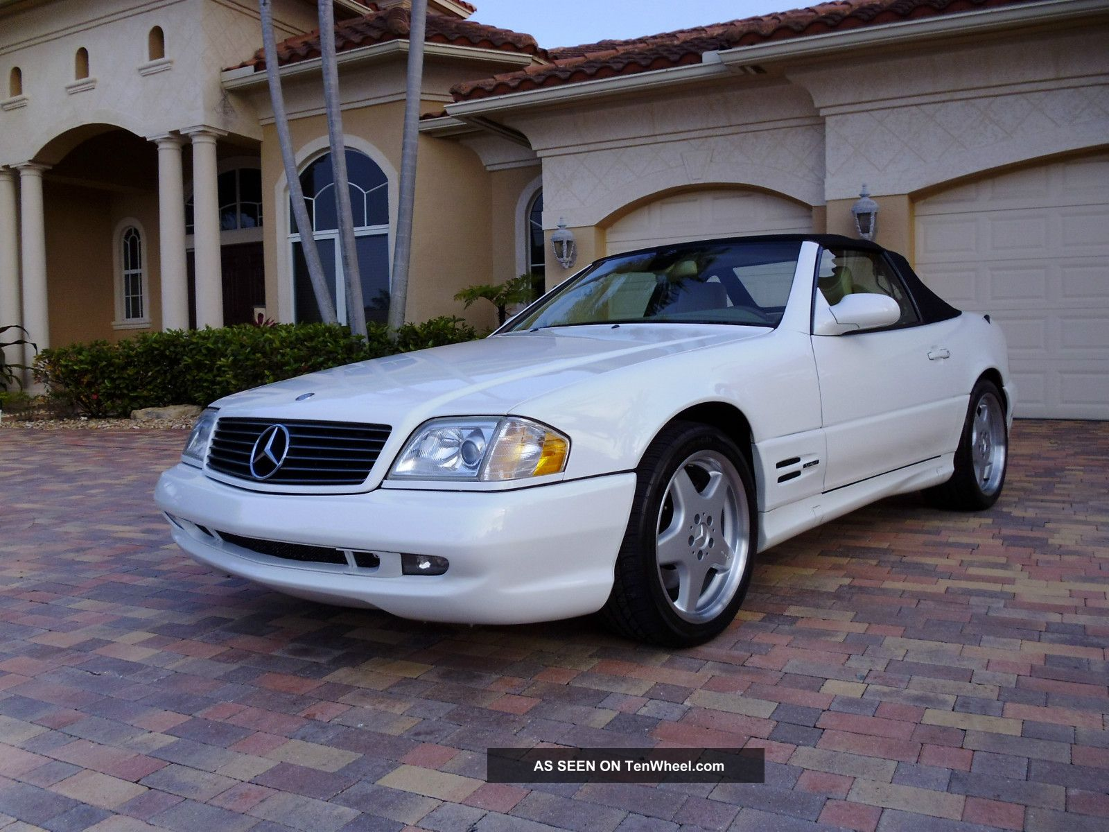 2000 mercedes benz sl500 sl 500 convertible amg sport package tenwheel