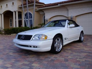 2000 Mercedes Benz Sl500 Sl 500 Convertible Amg Sport Package photo
