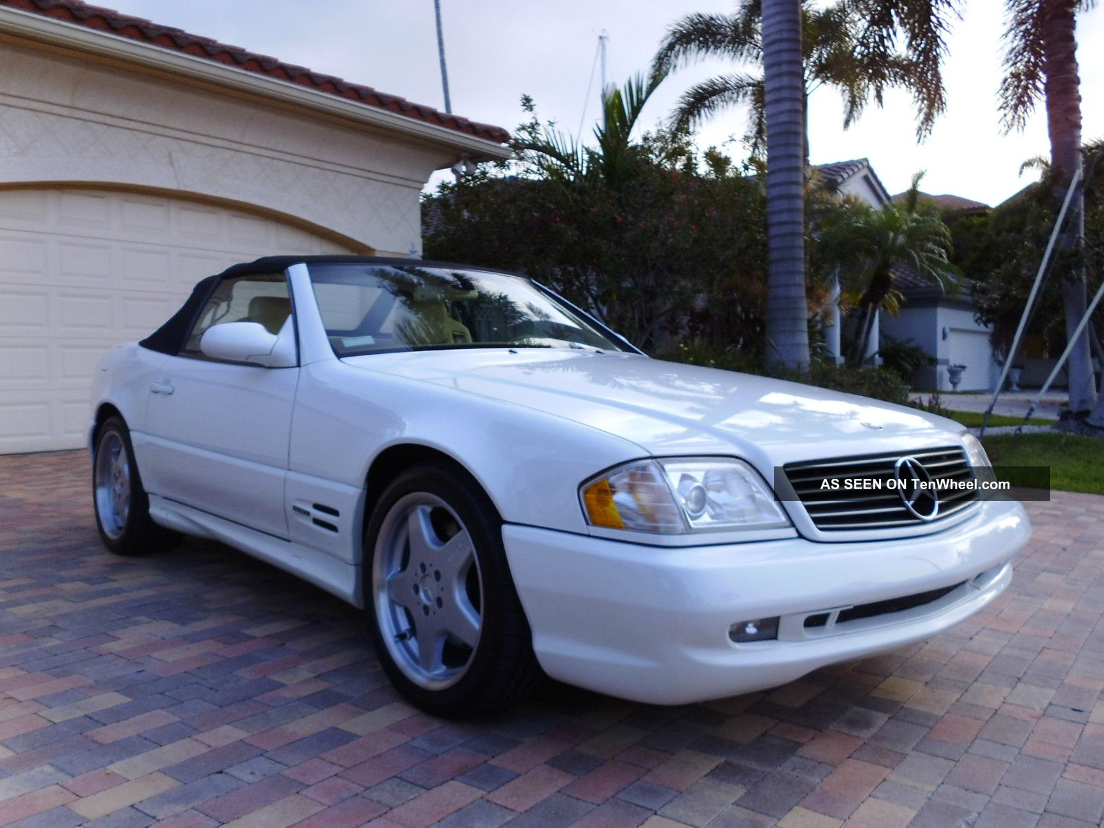 2000 mercedes benz sl500 sl 500 convertible amg sport package. Black Bedroom Furniture Sets. Home Design Ideas