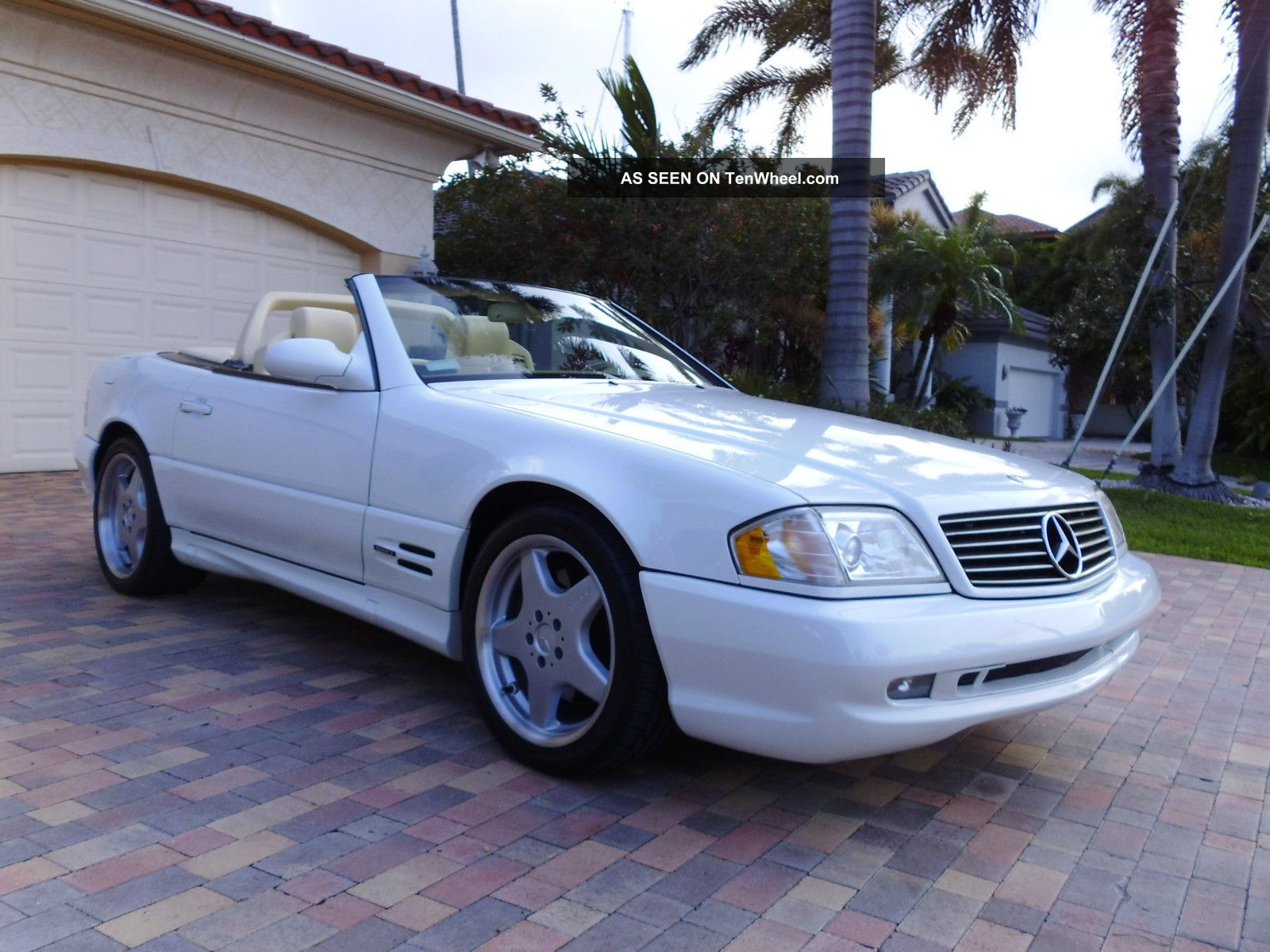 2000 mercedes benz sl500 sl 500 convertible amg sport package for Mercedes benz sl500 amg