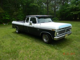 1975 Ford Ranger Supercab 360 V8 C6 Auto 2wd Classic Pickup Truck photo