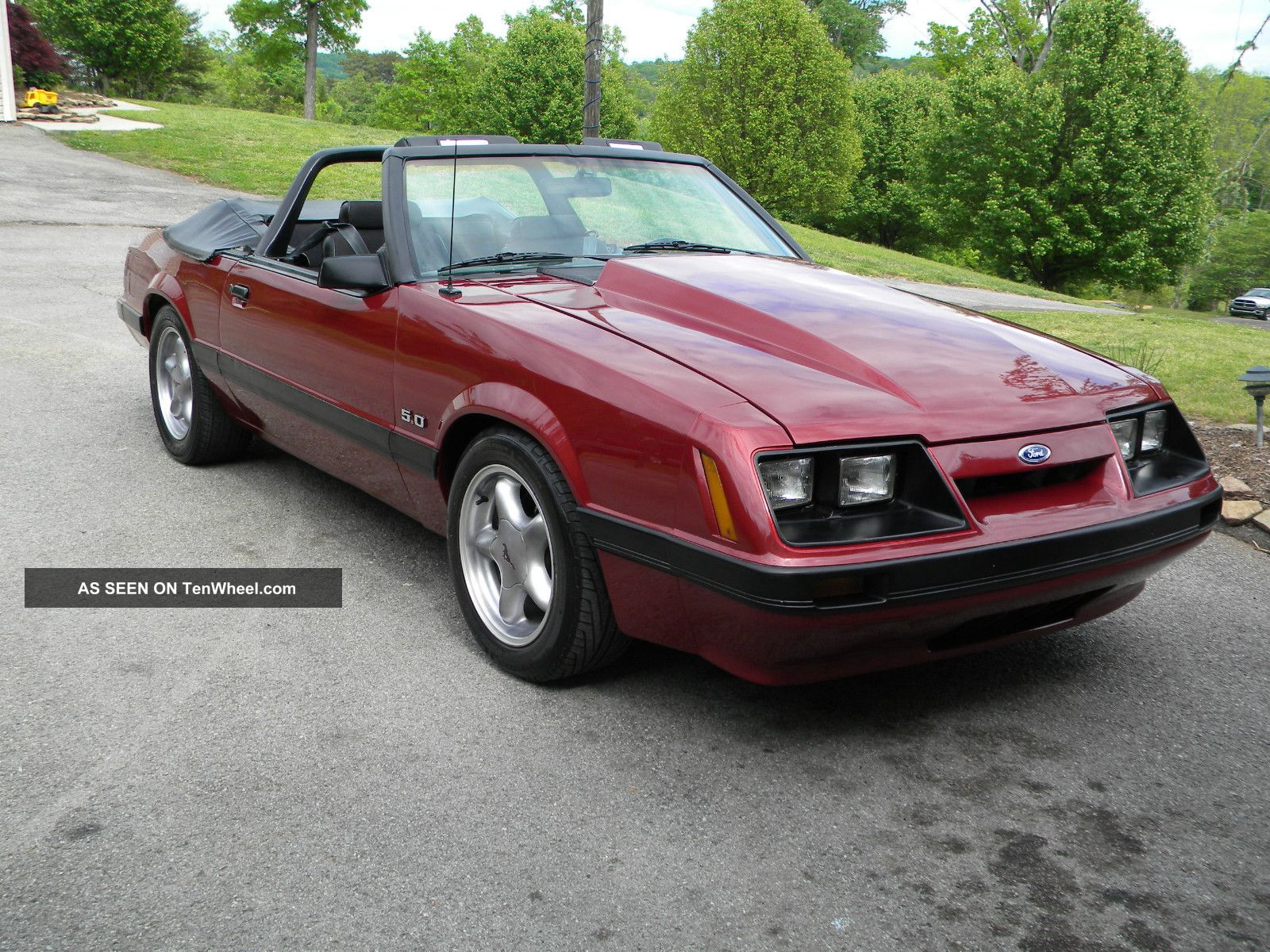 1986 Ford Mustang Lx Convertible - - Car - - 306,  5 Speed Mustang photo