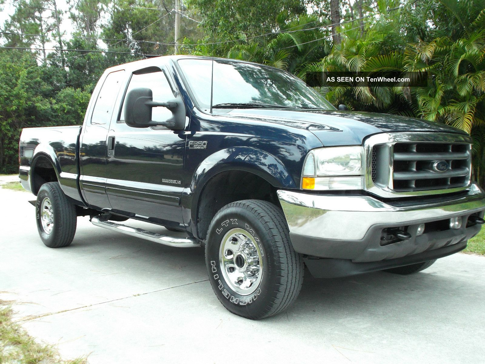 2002 Ford F - 350 Xlt 4x4 X - Cab With 7.  3 Powerstroke Diesel 1 Ton F-350 photo