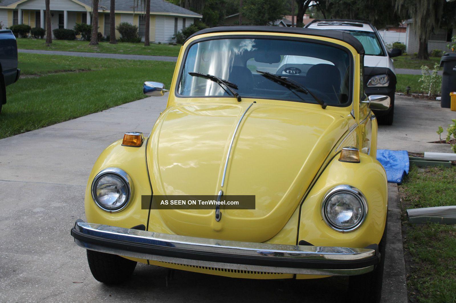1978 Beetle Convertible,  Karman Ghia Beetle - Classic photo