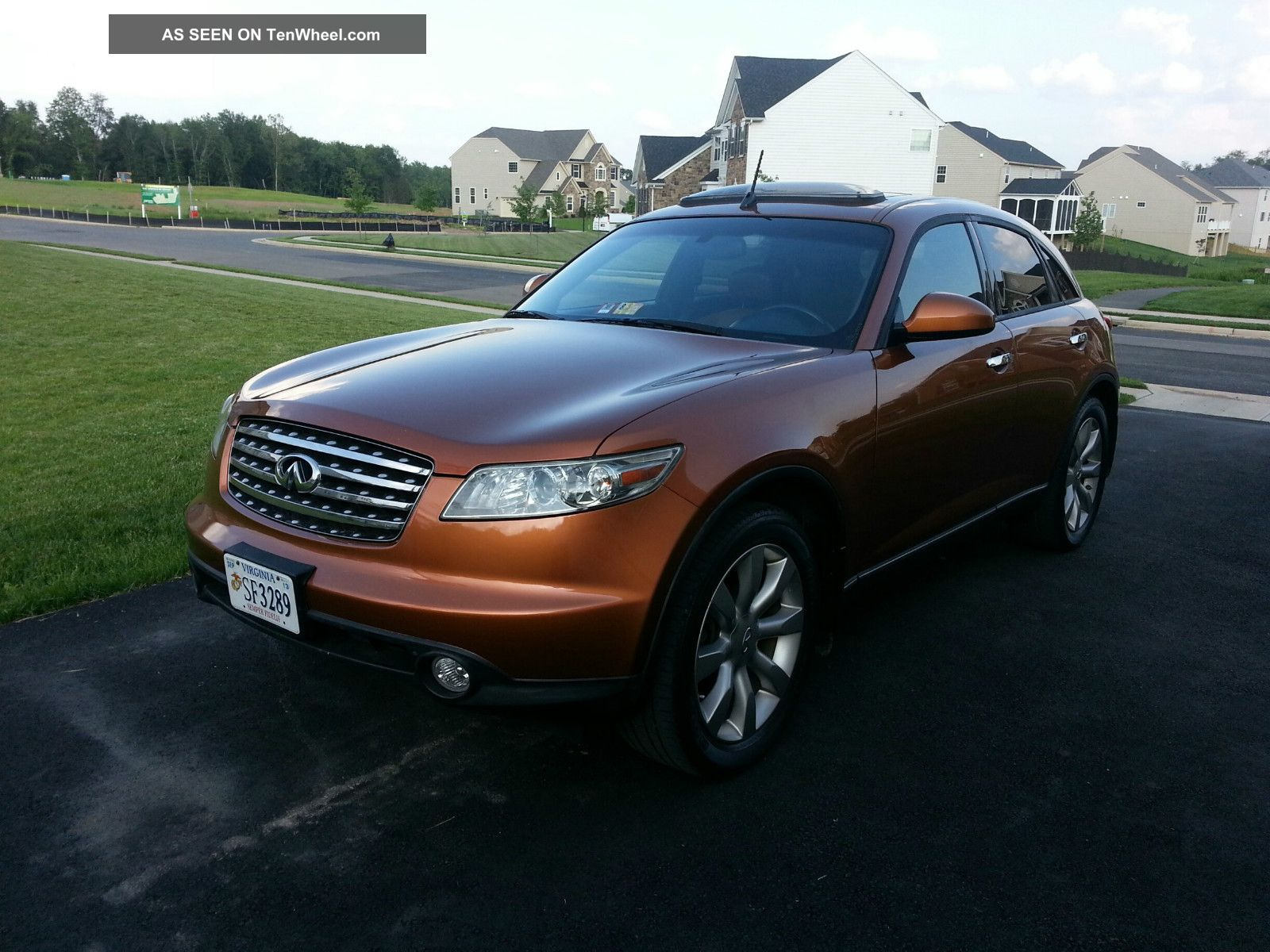 2003 Infiniti Fx45 Base Sport Utility 4 - Door 4.  5l FX photo