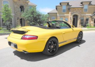 2001 Porsche 911 Carrera 4 Convertible 2 - Door 3.  4l photo
