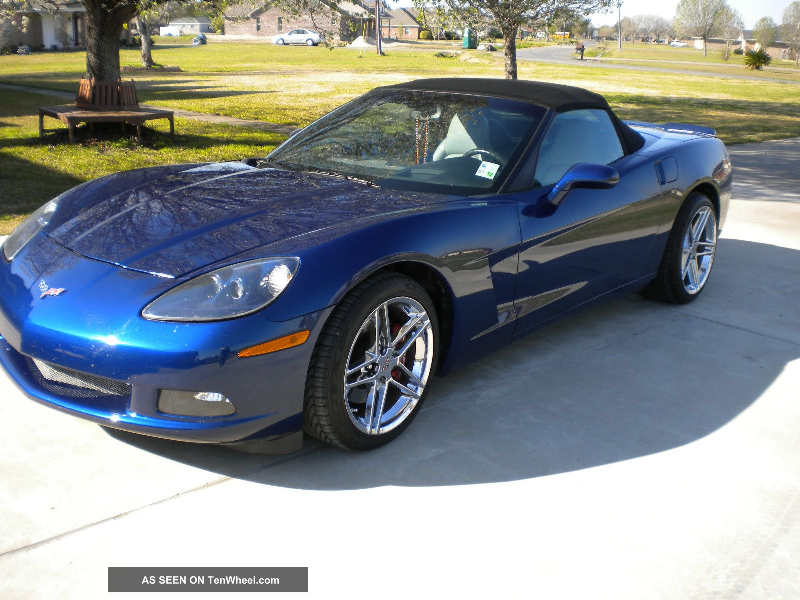 2005 Corvette Convertible Repairable
