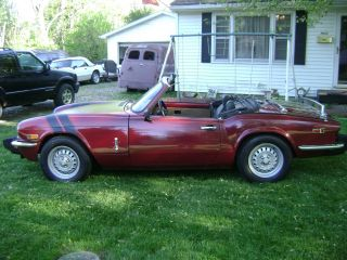 1978 Triumph Spitfire Convertible Scca Vintage Classic Sports Car photo