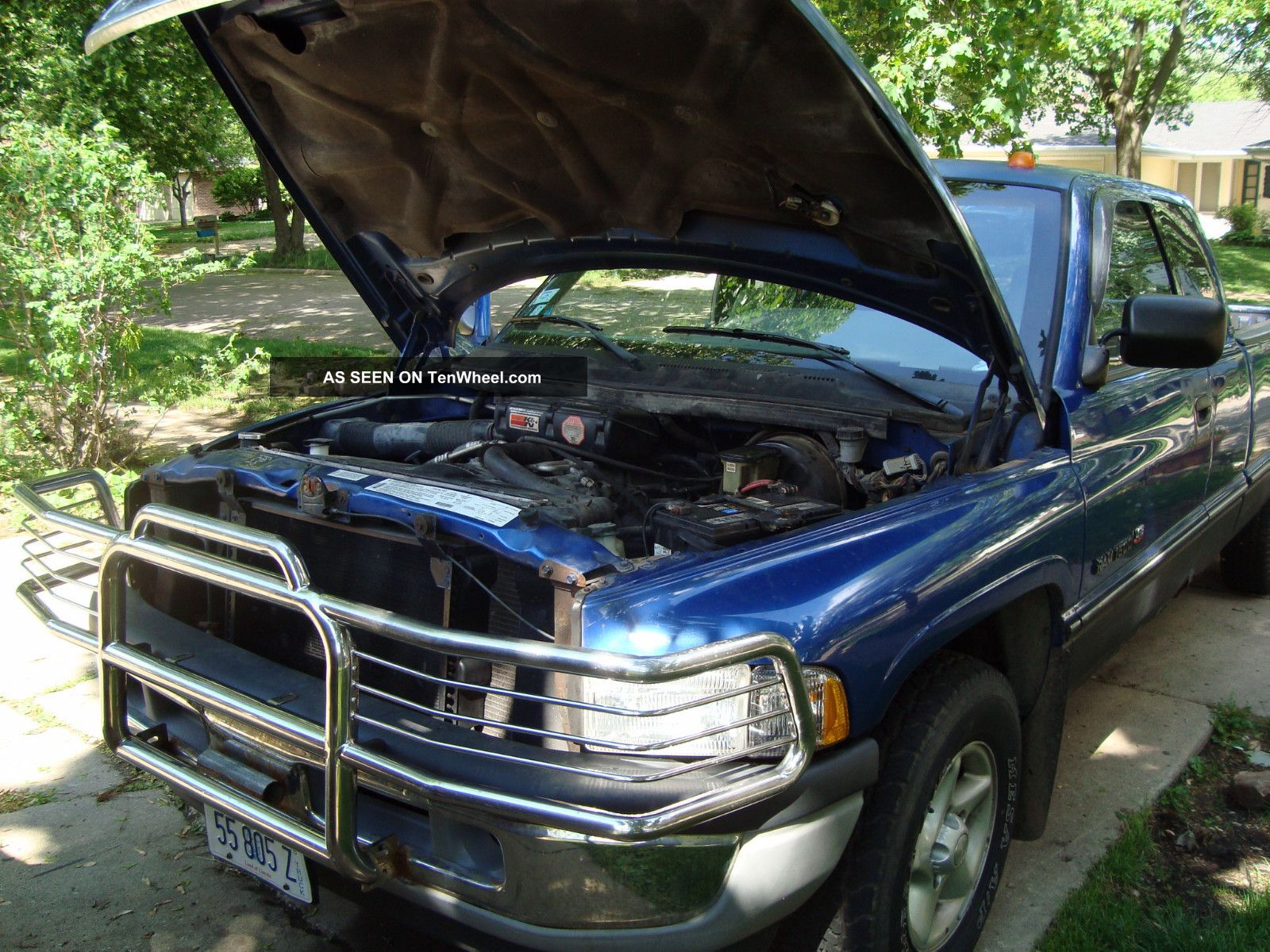 1996 Dodge Ram1500 Laramie Slt 2 Door W Brush Guard & Beeping Backup Alarm Ram 1500 photo