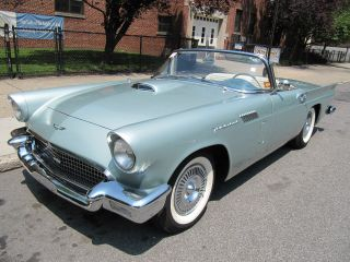 1957 Ford Thunderbird Convertible S Match 2 Tops P / S P / B A / C photo