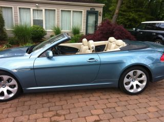 2005 Bmw 645ci Convertible - 6 Speed - photo