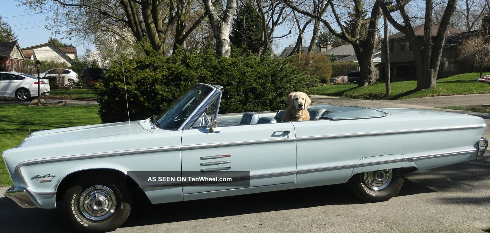 1966 Plymouth Sport Fury Convertible,  383 V - 8, Fury photo