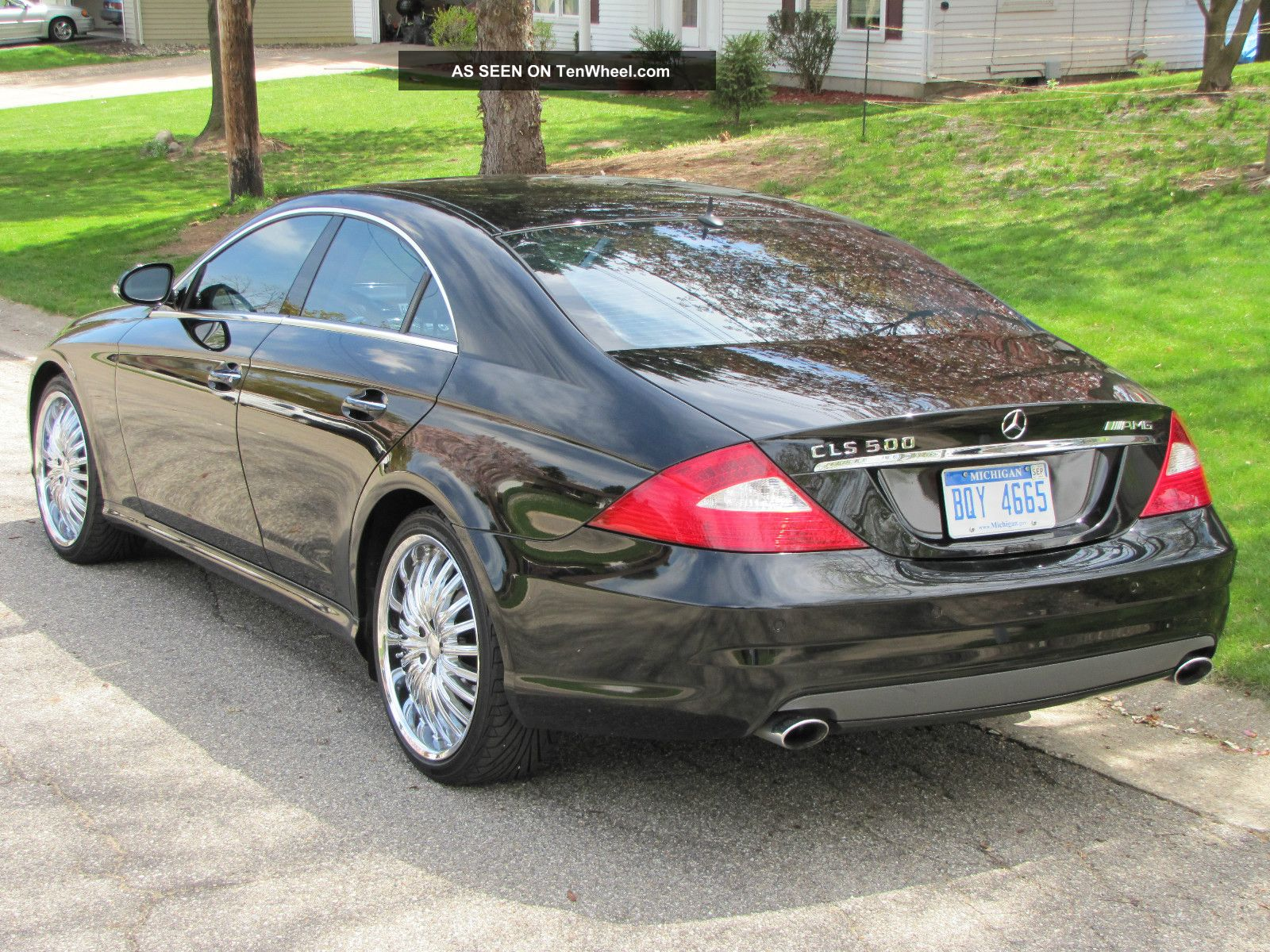 2006 mercedes benz cls 500 amg sport edition. Black Bedroom Furniture Sets. Home Design Ideas
