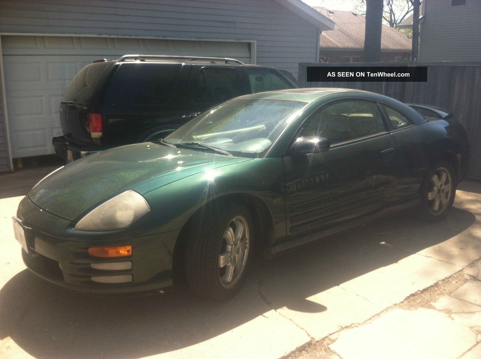 2000 Mitsubishi Eclipse Gt Coupe 2 - Door 3.  0l Eclipse photo