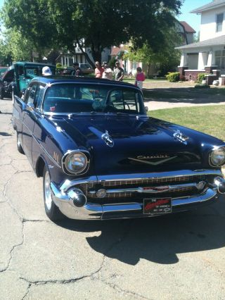 1957 Chevrolet Bel Air Base Sedan 4 - Door 4.  6l photo