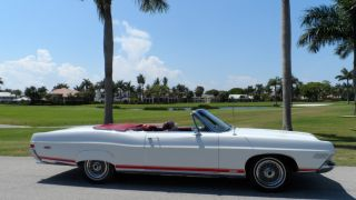 1968 Ford Galaxie 500 Xl Convertible. .  Full Marty Report.  Bucket Seats photo