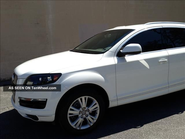 2011 Audi Q7 Tdi Premium Sport Utility 4 - Door 3.  0l Q7 photo