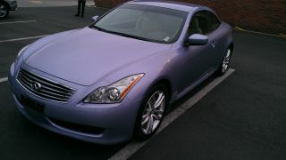 2010 Infiniti G37 Sport Convertible 2 - Door 3.  7l photo