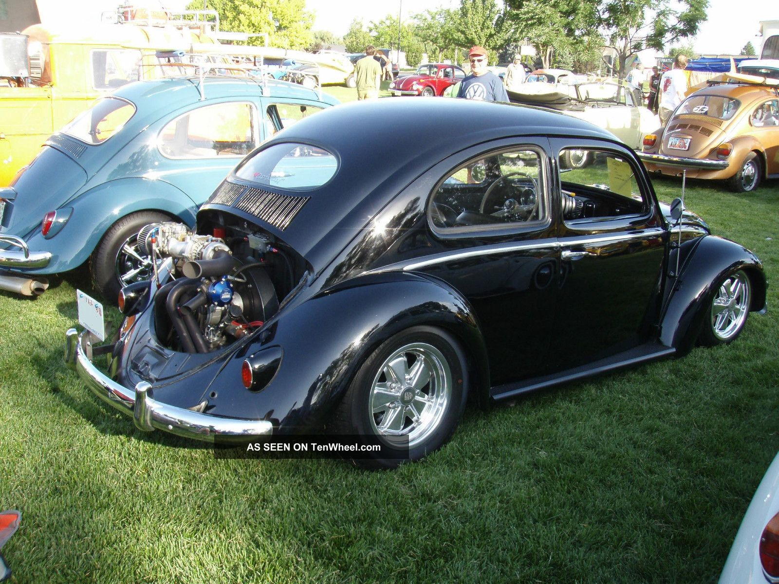 1957 vw beetle type 1 oval window turbo charged. Black Bedroom Furniture Sets. Home Design Ideas
