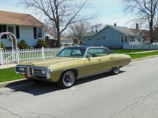 1969 Pontiac Bonneville,  Four Door Hardtop.  Oklahma Car photo