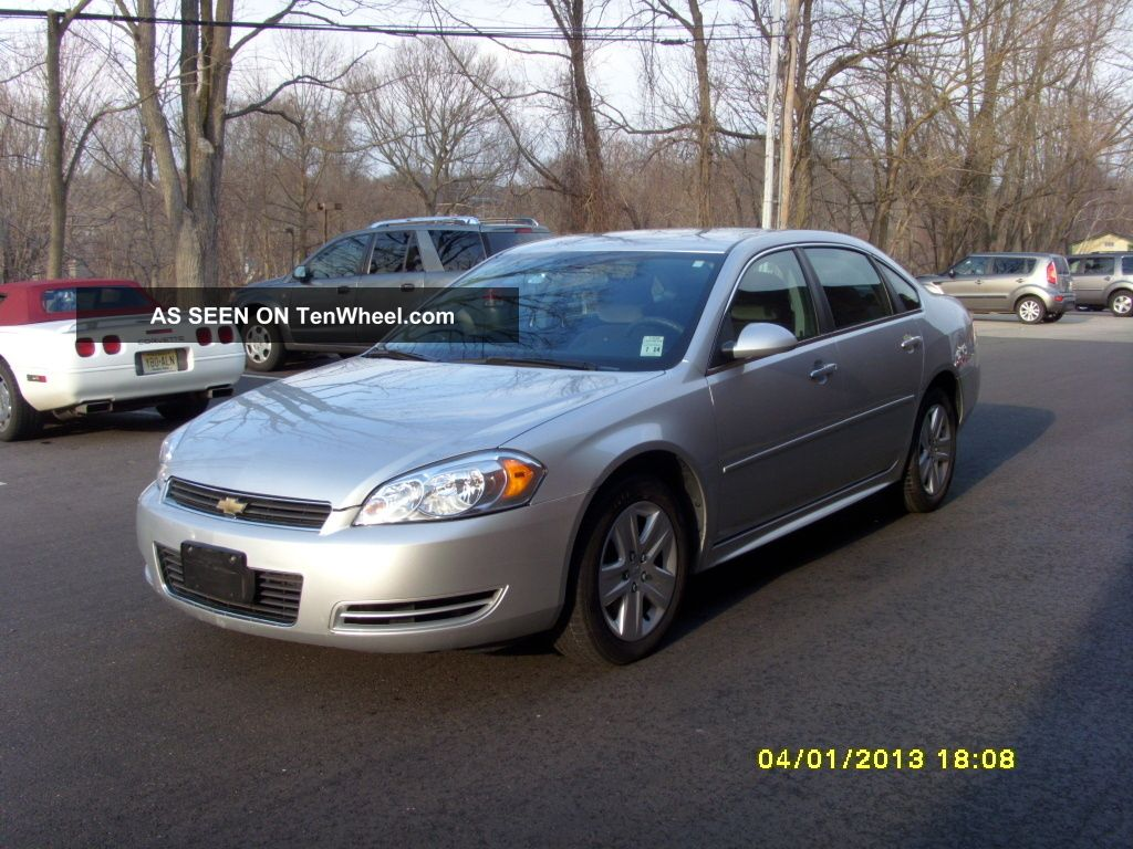 2010 Chevrolet Impala Lt Sedan 4 - Door 3.  5l Impala photo